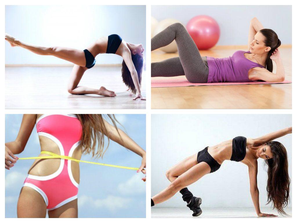Упражнения при похудении живота и талии