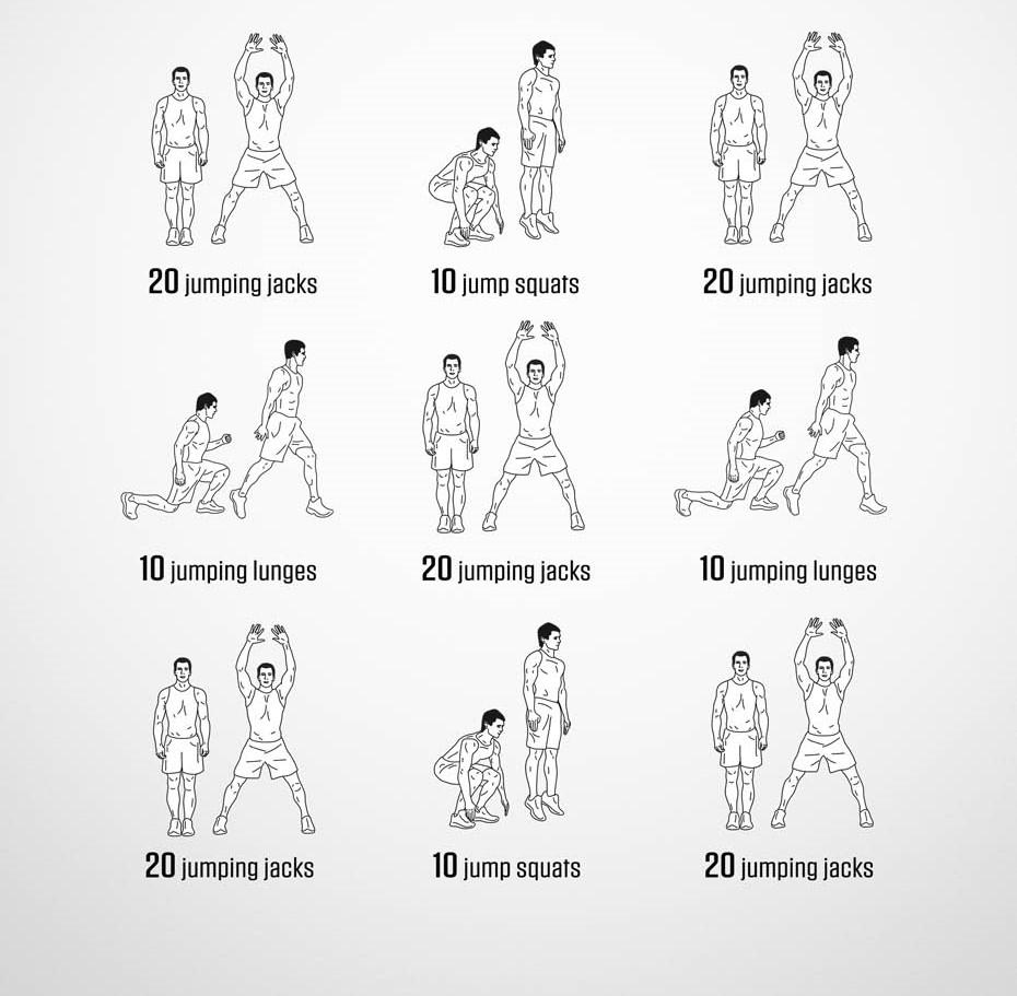 физические упражнения для мужчин в домашних условиях